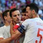 8 gollü çılgın maçta kazanan İspanya!