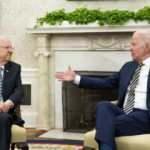 İsrail Cumhurbaşkanı Rivlin, Biden'e methiyeler dizdi
