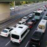 Haftanın ilk gününde İstanbul'da trafik yoğunluğu