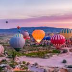 Kapadokya'da sıcak hava balonu turlarına yoğun ilgi
