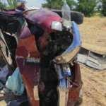 Malatya'da şarampole devrilen kamyonet hurdaya döndü! 5 ağır yaralı