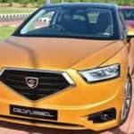 MÜSİAD üyeleri KKTC'nin yerli otomobili Günsel'i test etti