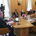 Şentop, KKTC-Türkiye Parlamentolararası Dostluk Grubu'nu kabul etti
