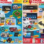 ŞOK 3 Temmuz aktüel ürünler kataloğu! Multimedya, tablet, oto aksesuar ve temizlik ürünlerinde..