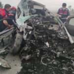 Trabzon'da feci kaza! 2 kişi öldü 4 kişi yaralandı