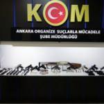 Yasa dışı silah ticareti yaptıkları iddiasıyla 15 şüpheli yakalandı