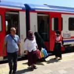 Yeniden başlayan tren seferleri vatandaşı sevindirdi