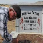 Alman vatandaşının mezarı başında 8 yıldır her cuma dua ediyor