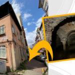 Apartmanın altından Bizans dönemine ait sarnıç çıktı
