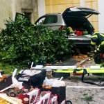 Avusturya'da araç, pazar yerine girdi: 13 yaralı