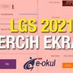 LGS tercihleri e-Okul üzerinden nasıl yapılır? 2021 MEB LGS tercihlerin sona ereceği tarih...