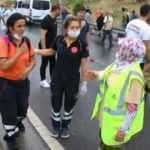 Maltepe'de zincirleme kaza : 2 yaralı