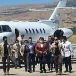'Özel uçaklarla gezmiyoruz' diyen Akşener özel jetle Malatya'ya gitti!