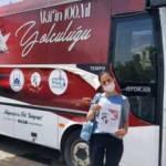 Sakarya'da otobüsle mahalle mahalle gezip Mehmet Akif'i anlatıyorlar