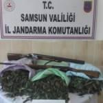 Samsun'da 13 bin 240 gram esrar ele geçirildi