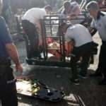 Samsun'da felaketi yangın merdiveni önledi