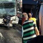 Son dakika: İki metrobüs çarpıştı! Çok sayıda yaralı! Seferler durdu