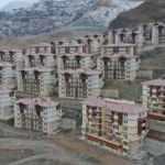 Yusufeli'nde yeni yerleşim yeri için ev ve iş yeri kuraları çekiliyor