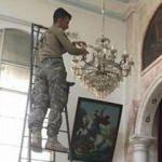Türk askeri kiliseyi onardı