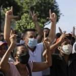 ABD'den Küba'daki hükümet karşıtı göstericilere destek