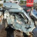 Afyonkarahisar'da zincirleme trafik kazası: 1 ölü, 4 yaralı
