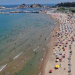 Bayram tatilini fırsat bilen İstanbullular Şile'ye akın etti