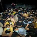 Bodrum'da 63 düzensiz göçmen yakalandı