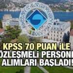 Boğaziçi Üniversitesi 25 Koruma ve Güvenlik Görevlisi alım ilanı! Başvurular sürüyor!