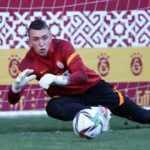 Galatasaray'da Muslera takımla çalıştı