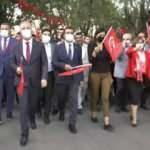 Gaziantepliler 15 Temmuz için yürüdü