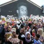 İngiliz halkı, Marcus Rashford'a destek vermek için toplandı