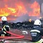 Tekirdağ'da fabrikada büyük yangın! Ekipler bölgede