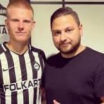 Altay, Björkander ile sözleşme imzaladı
