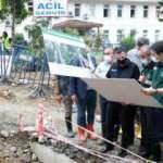 Bakan Pakdemirli, Rize'de afet bölgesinde incelemelerde bulundu