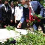 BBP Genel Başkanı Destici'den, Muhsin Yazıcıoğlu'nun kabrine ziyaret