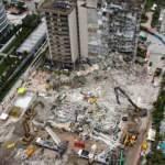 Çöken binadaki çalışmalar bir ay sonra tamamlandı