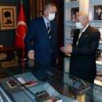 Erdoğan'dan Alparslan Türkeş'in doğduğu müze eve ziyaret