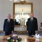 Erdoğan, Bosna-Hersek Devlet Başkanlığı Konseyi Boşnak Üyesi Caferoviç ile görüştü