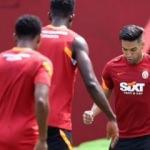 Galatasaray'da Falcao antrenmanda!