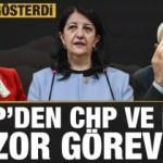 HDP'den CHP ve İYİ Parti'ye zor görev