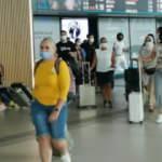 İstanbul Havalimanı'nda bayram dönüşü hareketliliği