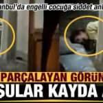 İstanbul'da yürek parçalayan görüntüler! Komşular kayda aldı