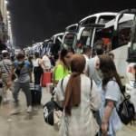 İstanbul'daki otogarlarda bayram hareketliliği sürüyor
