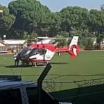 İzmir'de ambulans helikopter yeni doğan bebek için havalandı