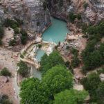 Köy sakinlerinin korktuğu kanyona tatilci ilgisi!