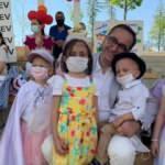 Lösemili çocuklar bayramı hastane bahçesinde kutluyor