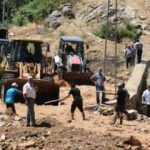 Malatya'da sulama kanalı patladı, evleri su bastı