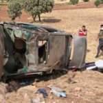 Mardin'den acı haber: Takla atan otomobildeki askerler hayatını kaybetti