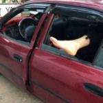 Oteller dolunca tatilciler araçlarında uyudu