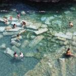 Ruslar 2 bin 500 yıllık Kleopatra havuzunu çok sevdi
